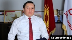 Kyrgyz oppositionist Jenish Moldokmatov (file photo)