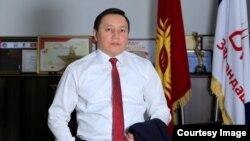 """Жениш Молдокматов, раиси ҳизби """"Турон""""."""