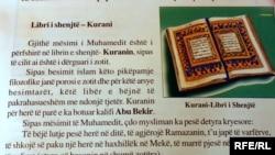 Stranica udžbenika sa spornim sadržajem
