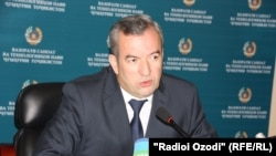 Шавкат Бобозода, вазири саноат ва технологияҳои нави Тоҷикистон.