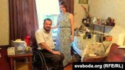 Сяргей Драздоўскі і Настасься Жаўрыд — маладая сям'я