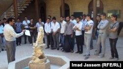 الطلبة الجدد المقبولون في معهد الدراسات الموسيقية ببغداد