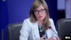 Архива: Бугарската министерка за надворешни работи Екатерина Захариева.