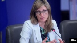 Бугарската министерка за надворешни работи Екатерина Захариева