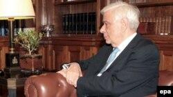 Шефот на грчката држава Прокопис Павлопулос