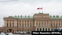 На снимке: Законодательное собрание Санкт Петербурга