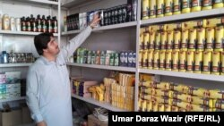 Noor Kalam Wazir now looks after his large extended family of 45 people.