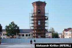 Площадь в городе Старая Русса