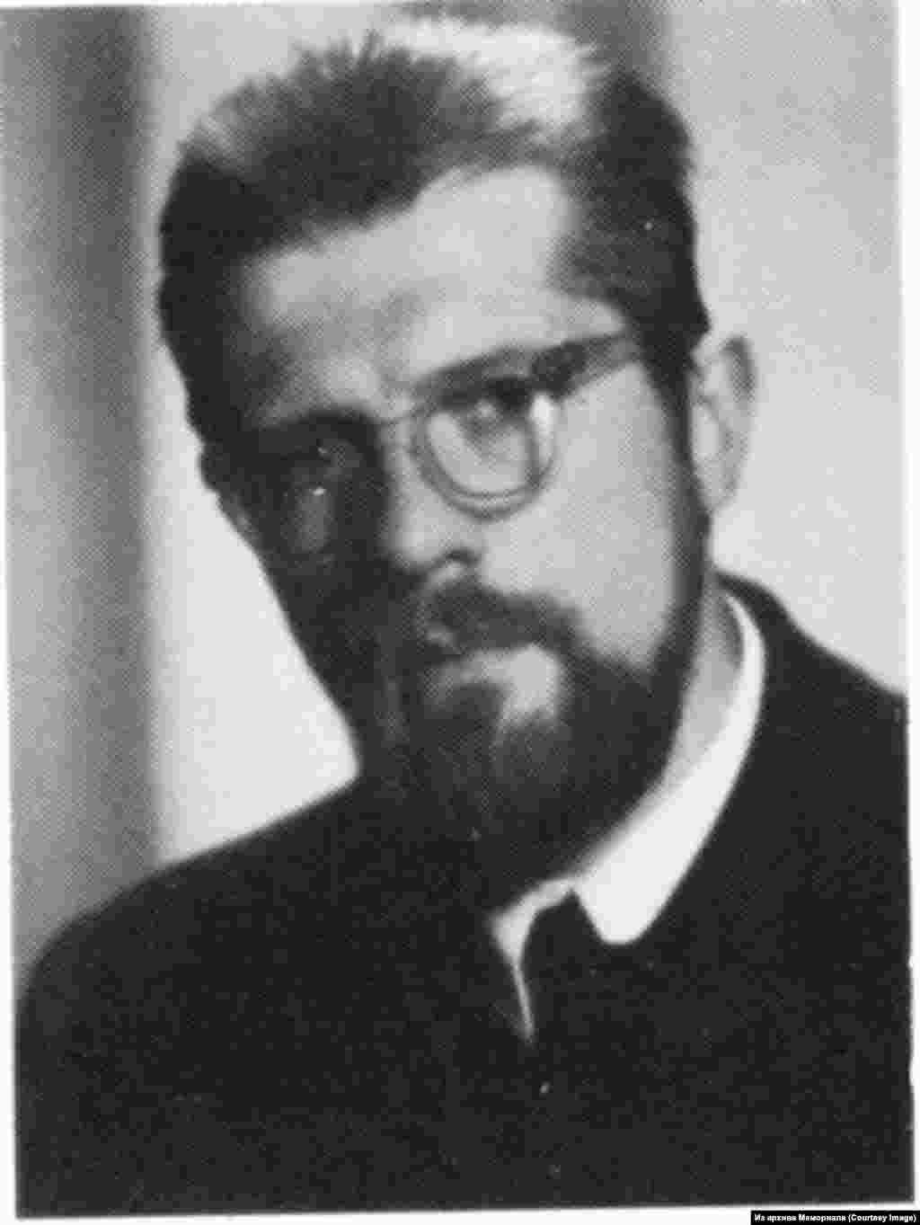 """Виктор Калниньш (1938-2001) - участник латышской подпольной группы """"Балтийская федерация"""", политзаключенный с 1962 по 1972."""