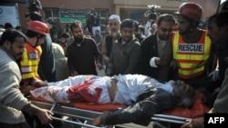 په امام بارګاه کې زخمی شوی يو کس