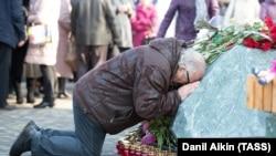 """Первая годовщина трагедии в торговом центре """"Зимняя вишня"""" в Кемерове"""