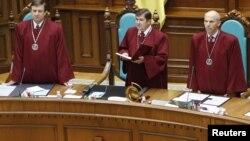 Засідання Конституційного суду, Київ, 1 жовтня 2010 року