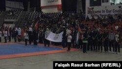 من إفتتاح بطولة الوفاء الدولية بالتايكونجتسو في عمّان