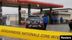 Полицейский автомобиль во Франции. Архивное фото