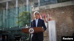 "U.S. Secretary of State John Kerry told reporters in Vienna on July 4 that ""it is now time to see whether or not we are able to close an agreement."""