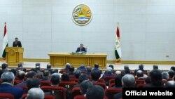 Расширенное заседание правительства Таджикистана, 21 января 2019 года, Фото пресс-службы президента РТ