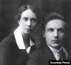 Зоська Верас. З мужам Антонам Войцікам. 1926 г