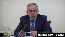 Armenia - Hakob Hakobian, member of Ruling HHK faction, Yerevan, 30 Nov 2017