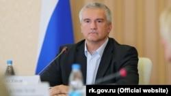 Російський глава Криму Сергій Аксенов