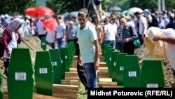 Potočari: Ukop 127 žrtava genocida