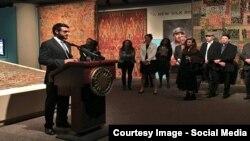 حمدالله محب مشاور امنیت ملی افغانستان، ۲۶ می ۲۰۱۶