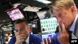 Stock markets have been jittery amid fears that the economy is in a parlous state.