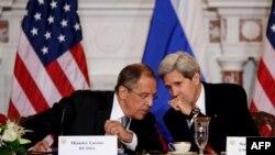 ԱՄՆ - Միացյալ Նահանգների պետքարտուղար Ջոն Քերրիի և Ռուսաստանի արտգործնախարար Սերգեյ Լավրովի հանդիպումը Վաշինգտոնում, 9-ը օգոստոսի, 2013թ․