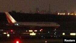 Авионот со кој беа транспортирани руските шпиони