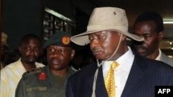 Presidenti i Ugandës Yoweri Museveni (Ilustrim)