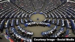 Зала Європарламенту