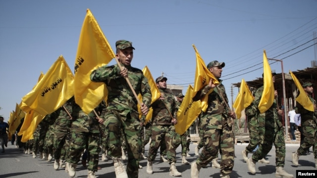Iran's Islamic Revolutionary Guards Corps would be the most likely force to help Iraq.