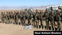 Американские солдаты в Афганистане, ноябрь 2017
