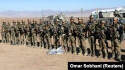 Американские солдаты в Афганистане, ноябрь 2017 года.