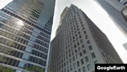 Four Russian-owned luxury apartments at 20 Pine Street in New York's Financial District may be seized if U.S. prosecutors have their way.