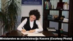 Vršilac dužnosti ministra za administraciju lokalne samouprave Adrijana Hodžić