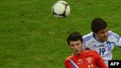 Алғашқы екі ойында жарқ еткен Алан Дзагоев бұл жолы көп көзге түспеді. Оның соңғы минуттардағы баспен ұрған добы қақпадан бірнеше сантиметр қиыс кетті. Варшава, 16 маусым 2012 жыл