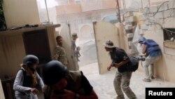 Mosul pod borbama u maju 2017.