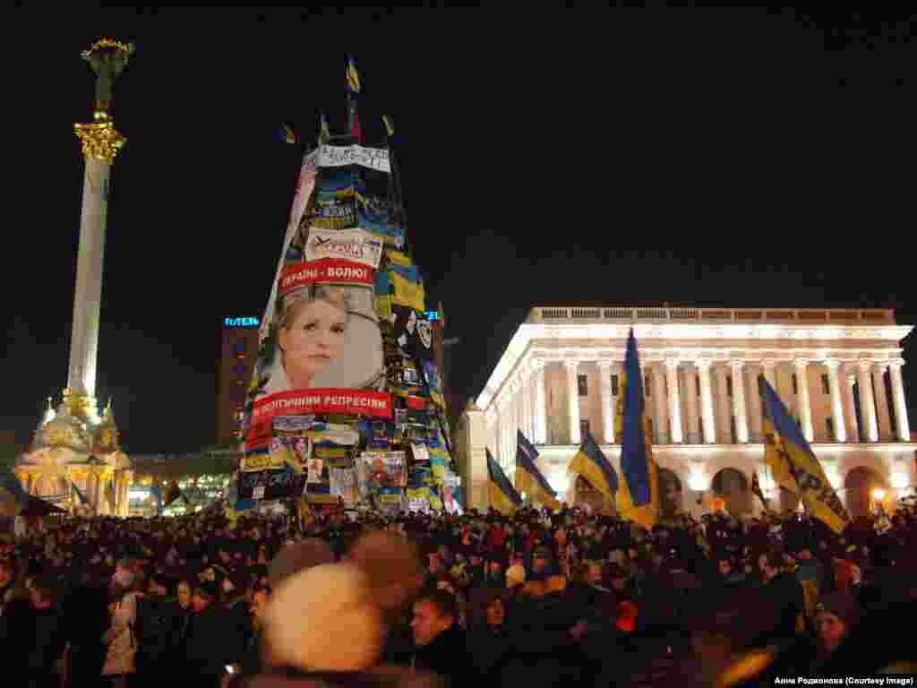 Площадь Независимости Киеве