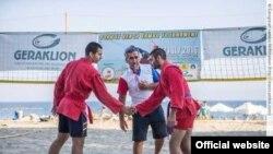 Открытый чемпионат Кипра по пляжному самбо (фото из архива)