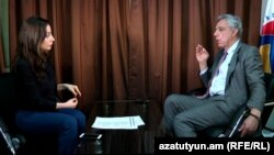 Вардан Осканян дает интервью Радио Азатутюн, 16 марта 2017 г.