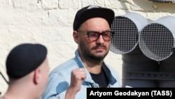 Regizorul Kiril Serebrenikov la audierea de la tribunal