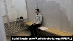 Станіслав Краснов на засіданні суду, 11 квітня 2016 року