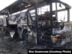 Ракета попала в пассажирский автобус в армянском селе Сотк. 30 сентября 2020 года