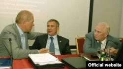 Андрей Крайнов (с), Рөстәм Миңнеханов, Равил Моратов
