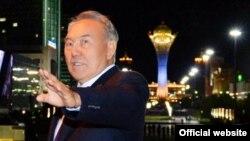 Қазақстан президенті Нұрсұлтан Назарбаев Астана қаласы туралы айтып тұр.