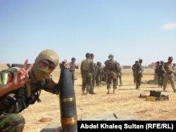 """Курдская милиция """"пешмерга"""""""