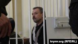 Василь Ганиш в Апеляційному суді. Київ, 12 травня 2015 року