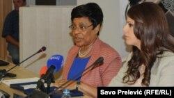 Američka ambasadorka Sue K Brown na okruglom stolu o zviždačima