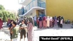 """""""Маршировка""""-и 7 ҳазор нафар дар Кӯлоб"""
