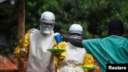 کمک پزشکان بدون مرز به بیماران مبتلا به ابولا در سیرالئون